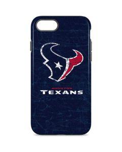 Houston Texans Distressed iPhone 8 Pro Case