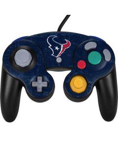 Houston Texans Distressed Nintendo GameCube Controller Skin
