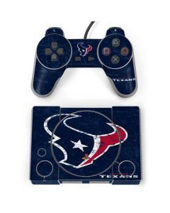 Houston Texans Distressed PlayStation Classic Bundle Skin