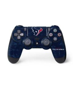 Houston Texans Distressed PS4 Controller Skin