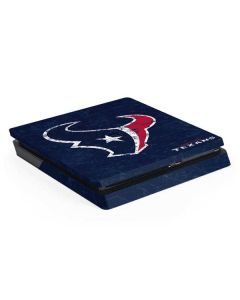 Houston Texans Distressed PS4 Slim Skin
