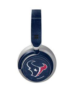 Houston Texans Distressed Surface Headphones Skin