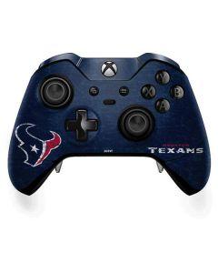 Houston Texans Distressed Xbox One Elite Controller Skin