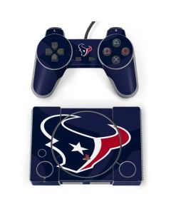 Houston Texans Double Vision PlayStation Classic Bundle Skin