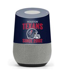 Houston Texans Helmet Google Home Skin