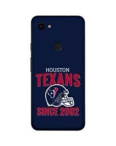 Houston Texans Helmet Google Pixel 3a Skin