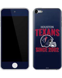 Houston Texans Helmet Apple iPod Skin