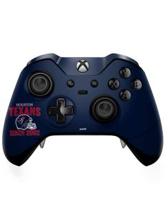 Houston Texans Helmet Xbox One Elite Controller Skin
