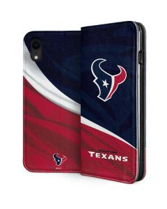Houston Texans iPhone XR Folio Case