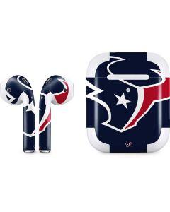 Houston Texans Large Logo Apple AirPods 2 Skin