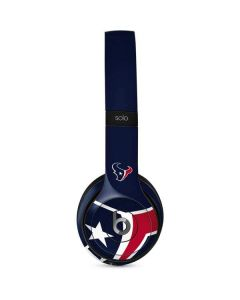 Houston Texans Large Logo Beats Solo 2 Wired Skin