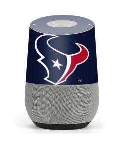 Houston Texans Large Logo Google Home Skin