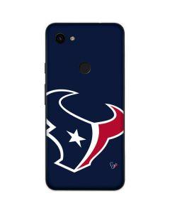 Houston Texans Large Logo Google Pixel 3a Skin