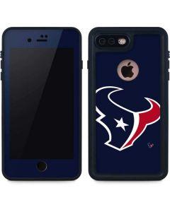 Houston Texans Large Logo iPhone 8 Plus Waterproof Case