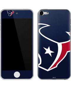 Houston Texans Large Logo Apple iPod Skin