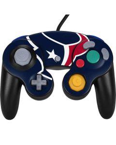 Houston Texans Large Logo Nintendo GameCube Controller Skin