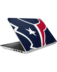 Houston Texans Large Logo HP Pavilion Skin