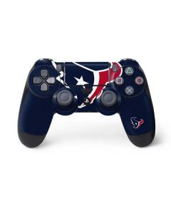 Houston Texans Large Logo PS4 Controller Skin