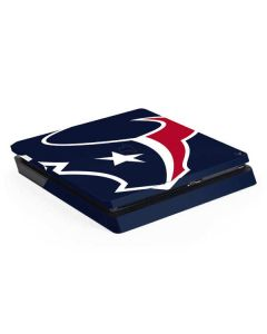 Houston Texans Large Logo PS4 Slim Skin