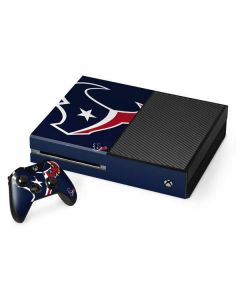 Houston Texans Large Logo Xbox One Console and Controller Bundle Skin