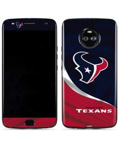 Houston Texans Moto X4 Skin