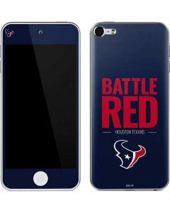 Houston Texans Team Motto Apple iPod Skin