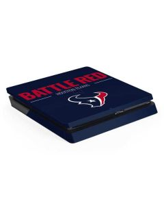 Houston Texans Team Motto PS4 Slim Skin