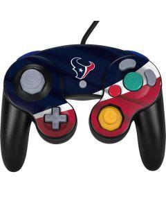 Houston Texans Nintendo GameCube Controller Skin