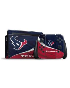 Houston Texans Nintendo Switch Bundle Skin