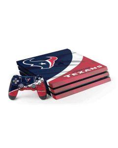 Houston Texans PS4 Pro Bundle Skin
