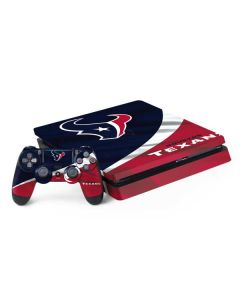 Houston Texans PS4 Slim Bundle Skin