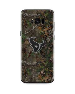Houston Texans Realtree Xtra Green Camo Galaxy S8 Skin
