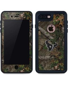 Houston Texans Realtree Xtra Green Camo iPhone 8 Plus Waterproof Case