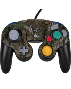 Houston Texans Realtree Xtra Green Camo Nintendo GameCube Controller Skin