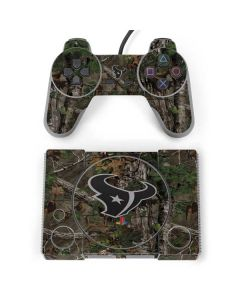 Houston Texans Realtree Xtra Green Camo PlayStation Classic Bundle Skin