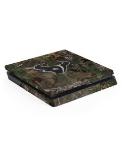 Houston Texans Realtree Xtra Green Camo PS4 Slim Skin