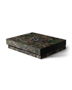Houston Texans Realtree Xtra Green Camo Xbox One X Console Skin