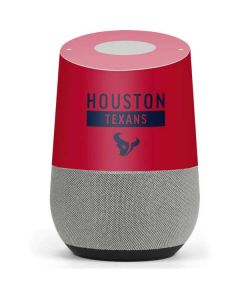 Houston Texans Red Performance Series Google Home Skin