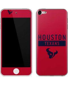Houston Texans Red Performance Series Apple iPod Skin
