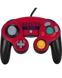 Houston Texans Red Performance Series Nintendo GameCube Controller Skin