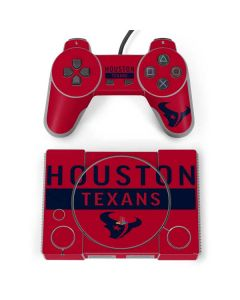 Houston Texans Red Performance Series PlayStation Classic Bundle Skin