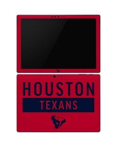 Houston Texans Red Performance Series Surface Pro 6 Skin