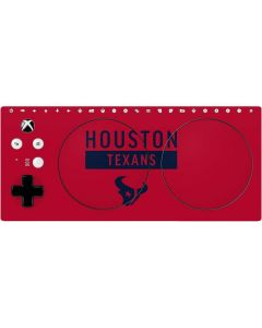 Houston Texans Red Performance Series Xbox Adaptive Controller Skin