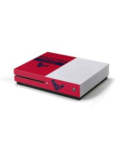 Houston Texans Red Performance Series Xbox One S Console Skin