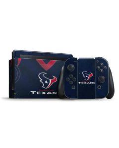 Houston Texans Team Jersey Nintendo Switch Bundle Skin