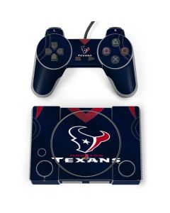Houston Texans Team Jersey PlayStation Classic Bundle Skin