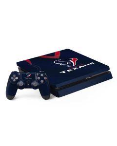 Houston Texans Team Jersey PS4 Slim Bundle Skin