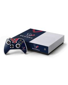 Houston Texans Team Jersey Xbox One S All-Digital Edition Bundle Skin