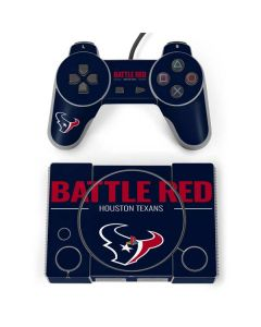 Houston Texans Team Motto PlayStation Classic Bundle Skin