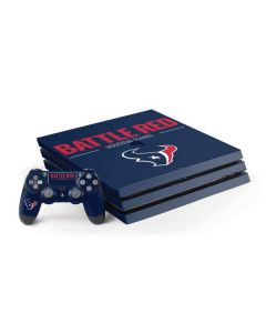 Houston Texans Team Motto PS4 Pro Bundle Skin